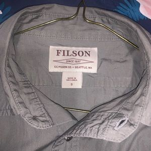 Filson Shirts - Filson short sleeve button down short sleeve shirt